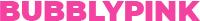 Bubblypink Logo
